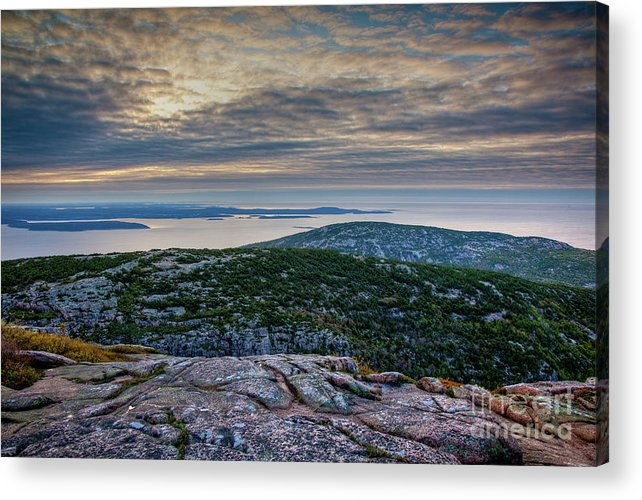Acadia National Park Acrylic Print featuring the photograph Cadillac Sky by Susan Cole Kelly