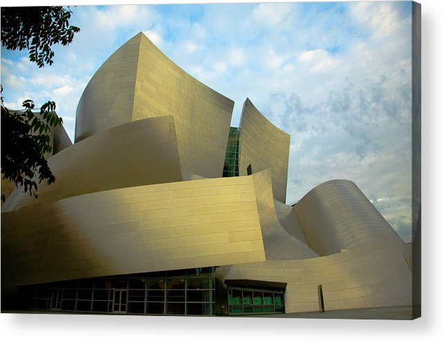 Disney Concert Hall Acrylic Print featuring the photograph Disney Hall by Michael Just