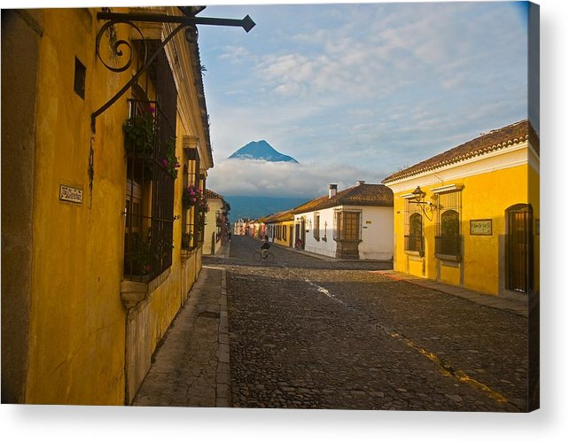 Central America Acrylic Print featuring the photograph el Volcan by Joseph Cosby