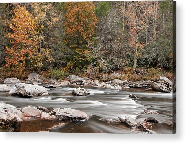 Chattooga River Acrylic Print featuring the photograph Chattooga River 14 by Derek Thornton
