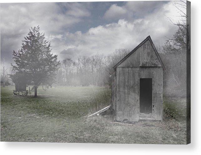 Farm Acrylic Print featuring the photograph Manor Road Farm by Tom Romeo