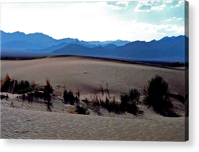 Desert Acrylic Print featuring the photograph Separation by Robert Shahbazi