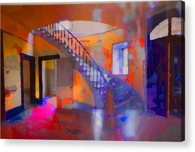 Stairs Acrylic Print featuring the photograph Stairway by Danielle Stephenson