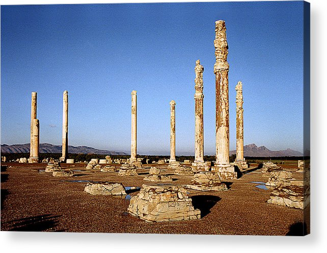 Persepolis Acrylic Print featuring the photograph The Palace by Robert Shahbazi