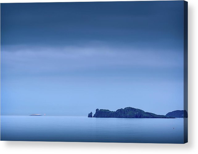 2017 Acrylic Print featuring the photograph Sailing Home by Niall Whelan