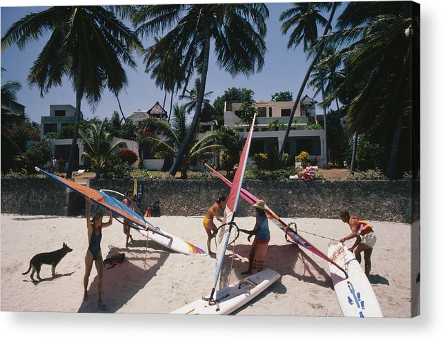 Kenya Acrylic Print featuring the photograph The Lure Of Lamu by Slim Aarons