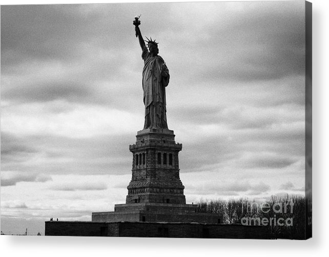 Usa Acrylic Print featuring the photograph Statue Of Liberty National Monument Liberty Island New York City by Joe Fox