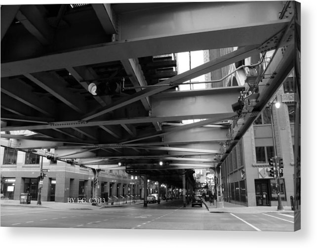 Chicago Acrylic Print featuring the photograph Chicago 6-7-13 Canon T3 First10 by Frank G