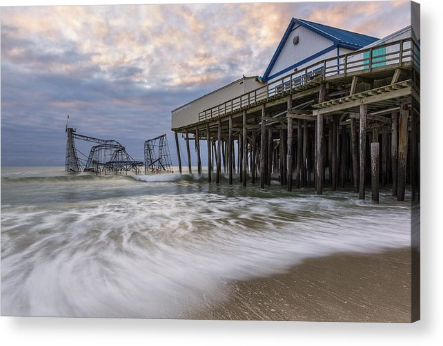 Hurricane Acrylic Print featuring the photograph Hurricane Sandy by Mike Orso