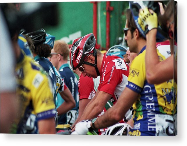 Cycling Acrylic Print featuring the photograph In The Zone by Joseph Perno