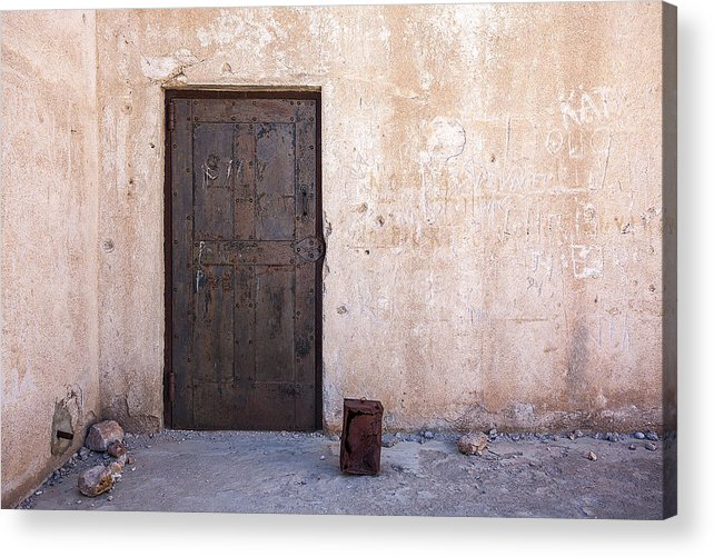 Jail Acrylic Print featuring the photograph Jail House Rocks by Peter Tellone