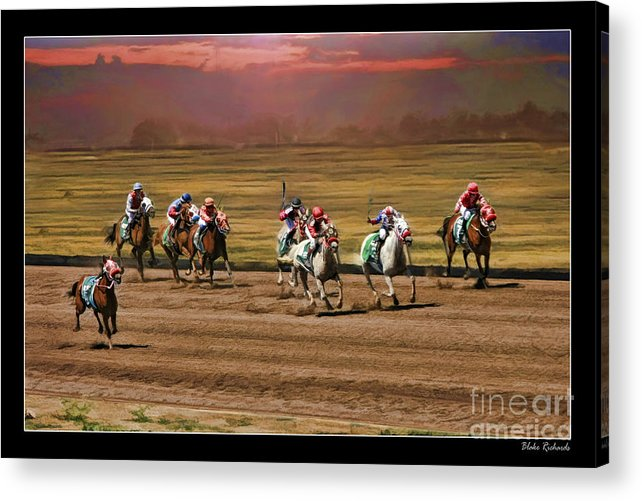 Ladies World Chapionship Ladies Cup Acrylic Print featuring the photograph Ladies World Chapionship Ladies Cup Missing One Lady by Blake Richards