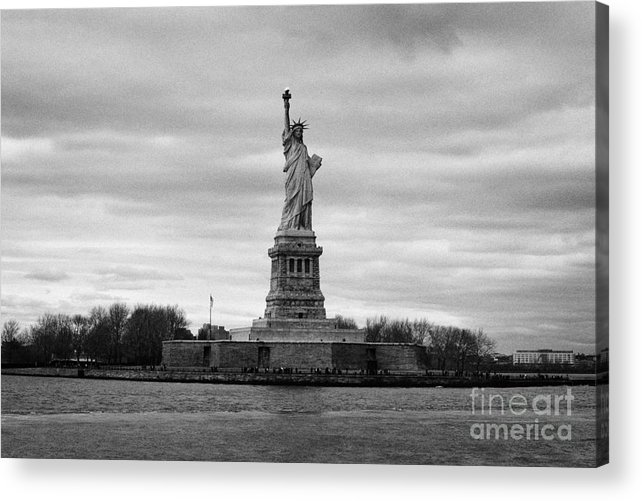 Usa Acrylic Print featuring the photograph Statue Of Liberty Liberty Island New York City by Joe Fox