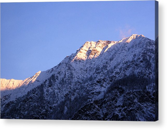 Alpine Acrylic Print featuring the photograph Alps In Shadows by Anthony Citro