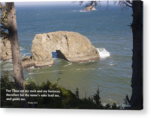 Northwest Inspirationals Acrylic Print featuring the photograph Arch Rock by Mick Anderson