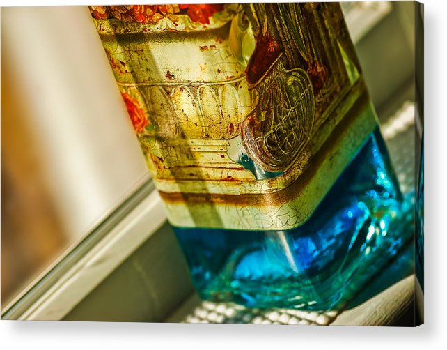 Blue Acrylic Print featuring the photograph Imported by Gene Hilton