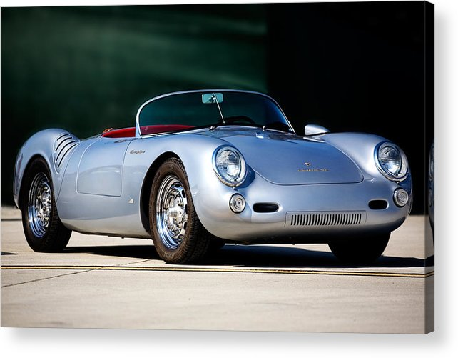 Automotive Acrylic Print featuring the photograph Porsche Spyder by Peter Tellone