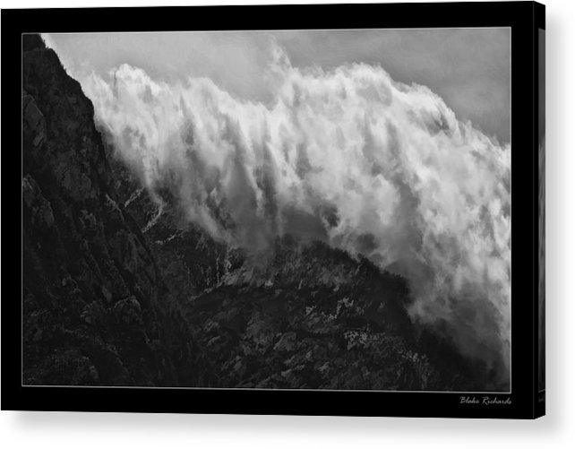 Fine Art Photographers Acrylic Print featuring the photograph Rolling Clouds by Blake Richards