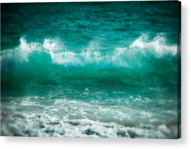 Wave Acrylic Print featuring the photograph Cabo Pulmo Wave by Norman Shrewsbury