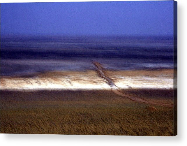 Desert Acrylic Print featuring the photograph Mirage by Robert Shahbazi