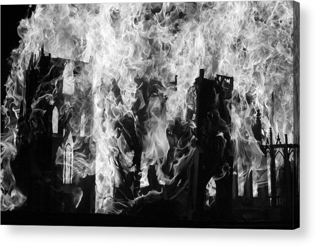 Acrylic Print featuring the photograph Untitled by Steffanie Pinner