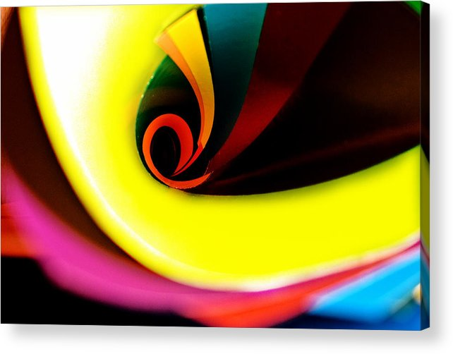 Colours Acrylic Print featuring the photograph Untitled by Vadim Grabbe