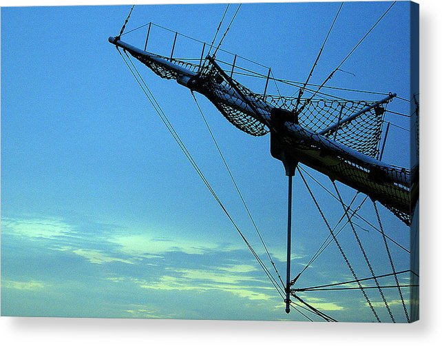 The Sky Acrylic Print featuring the photograph Untitled by Vadim Grabbe