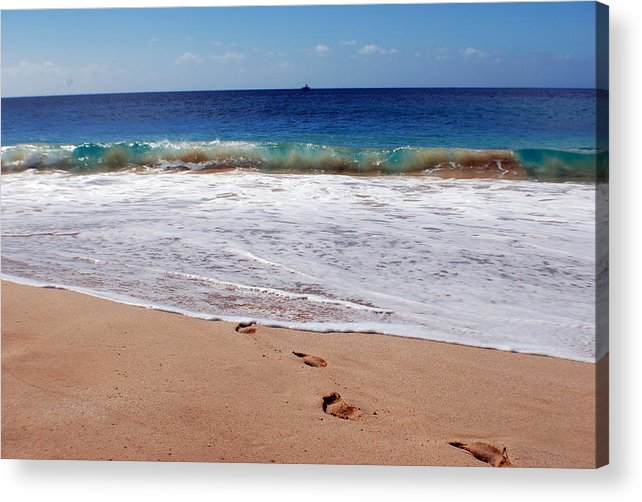 Acrylic Print featuring the photograph Big Beach by JK Photography