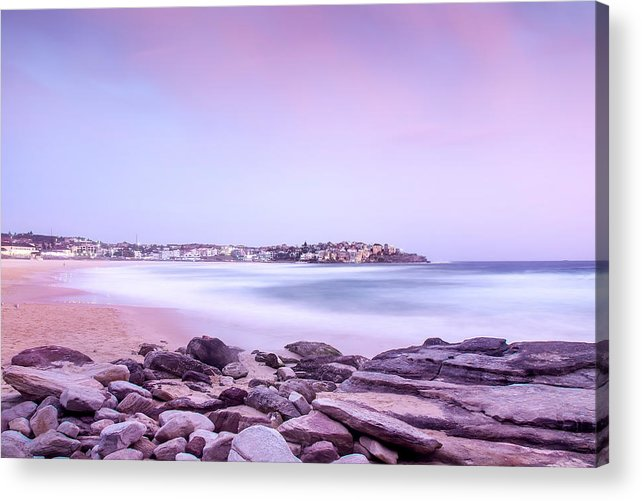 Sydney Acrylic Print featuring the photograph Bondi Basin by Az Jackson