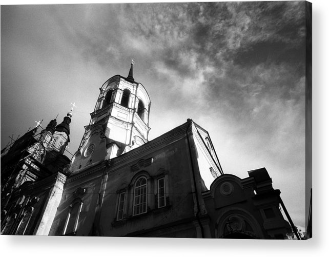 Church Acrylic Print featuring the photograph Catholic Church Tomsk Siberia Russia by Susan Chandler