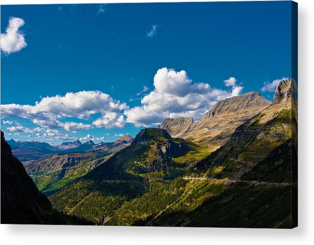 Landscape Acrylic Print featuring the photograph Glacier National Park by Jon Woodbury