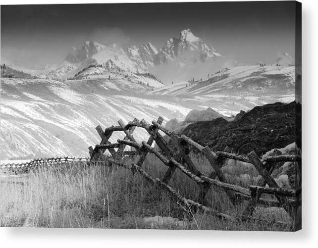 Heaven Acrylic Print featuring the photograph Heavens Gate.. by Al Swasey