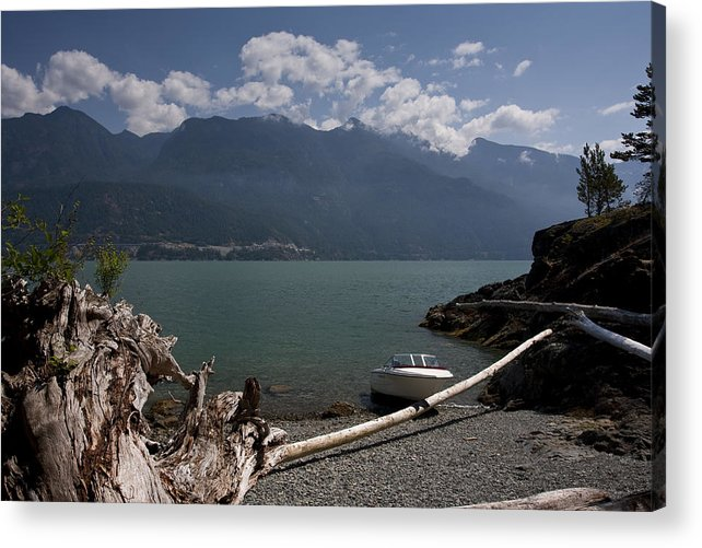 Anvil Island Acrylic Print featuring the photograph Lunch Stop by Scott Merriman