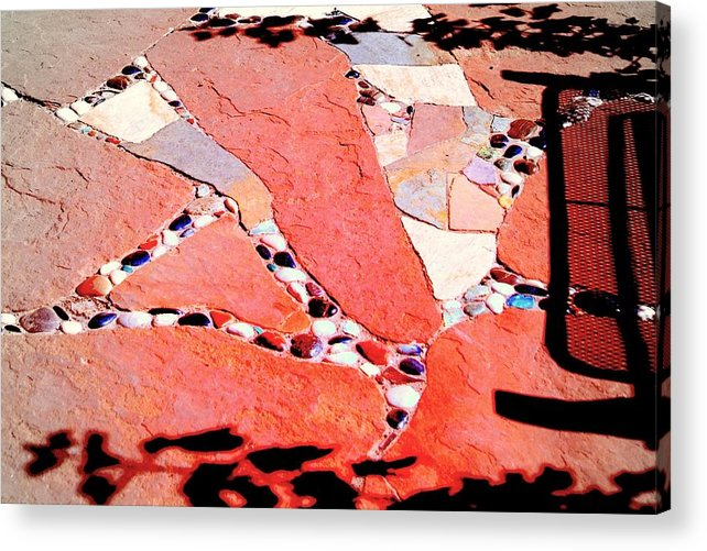 Madrid Colorado Acrylic Print featuring the photograph Madrid Mosaic.. by Al Swasey