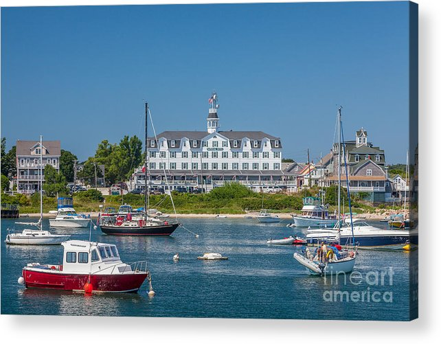 America Acrylic Print featuring the photograph Old Harbor View by Susan Cole Kelly