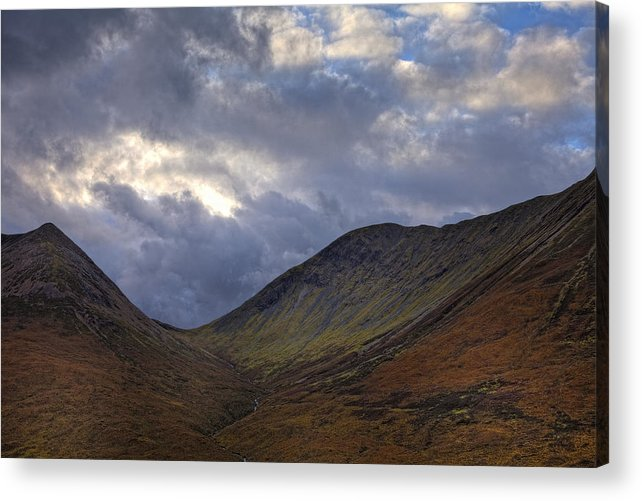 Isle Of Skye Acrylic Print featuring the photograph On The Isle Of Skye by Jim Dohms