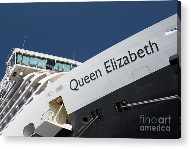 Queen Eliabeth Acrylic Print featuring the photograph Queen Eliabeth by Sheila Smart Fine Art Photography