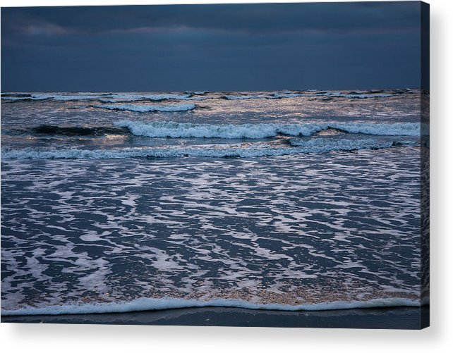 Beach Acrylic Print featuring the photograph Shining Sky by Susan Cole Kelly