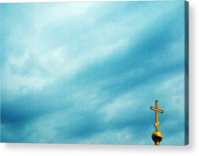 The Sky Acrylic Print featuring the photograph Soon Rain by Vadim Grabbe