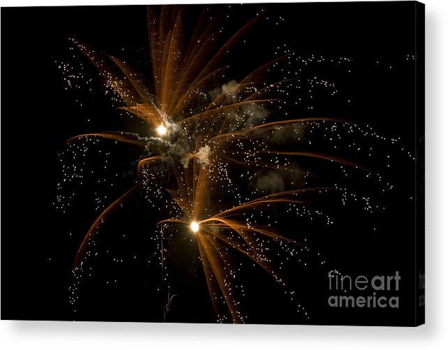 Fireworks Acrylic Print featuring the photograph Sparkles by Jeannie Burleson