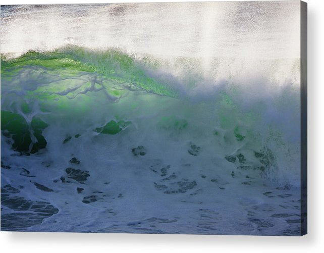 Acadia National Park Acrylic Print featuring the photograph Translucent by Susan Cole Kelly