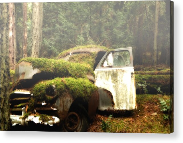 Vintage Cars Acrylic Print featuring the photograph Vintage 1947 Chevrolet by Diane Smith