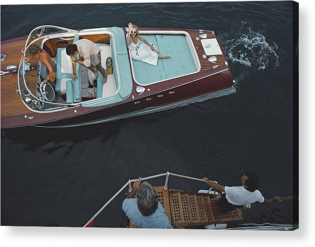 People Acrylic Print featuring the photograph Monte Carlo by Slim Aarons