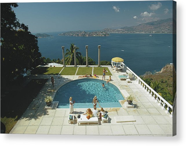 Child Acrylic Print featuring the photograph Nirvana by Slim Aarons