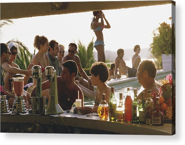 Spa Acrylic Print featuring the photograph Villa Vera by Slim Aarons