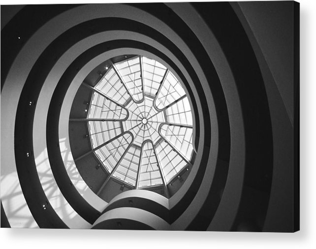 Spiral Acrylic Print featuring the photograph Spirals by Caroline Clark