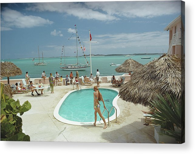 People Acrylic Print featuring the photograph Peace And Plenty by Slim Aarons