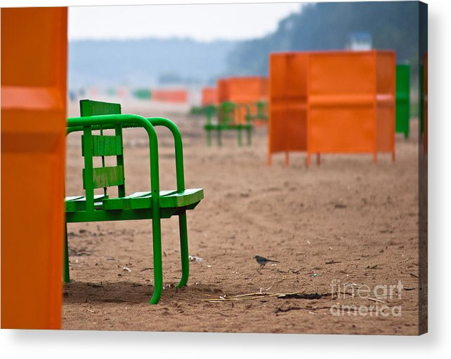 Beach Acrylic Print featuring the photograph Not A Season by Vadim Grabbe
