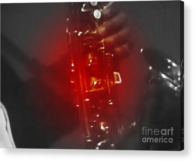 Sax Acrylic Print featuring the photograph Musical Memories by Patrick Mills