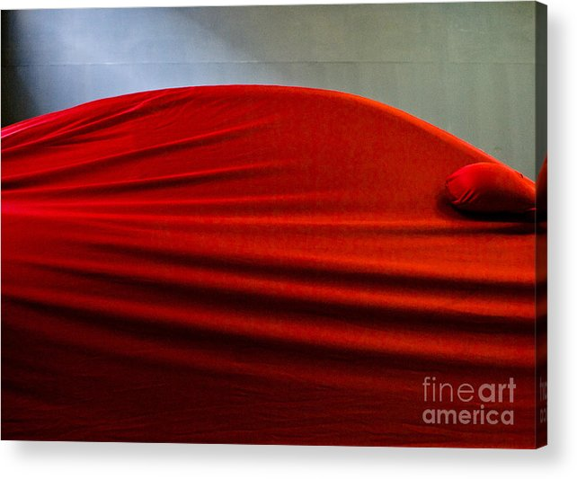 Red Acrylic Print featuring the photograph In The Red by Vadim Grabbe